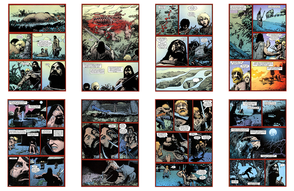 Conan the Cimmerian: Hunter's Moon, 31 pgs