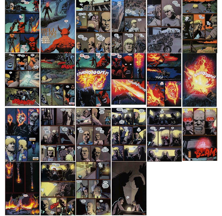 Ghost Rider, Part 2, 22 pgs