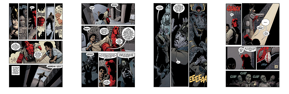 Hellboy: Being Human, 28 pgs