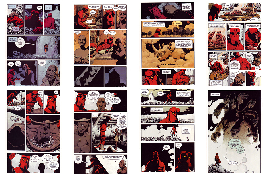 Hellboy: Makoma, Part 1, 24 pgs