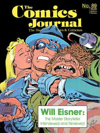 No Corben cover!