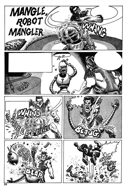 Mangle, Robot Mangler