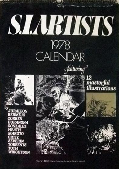 1978 S.I. Artists Calendar