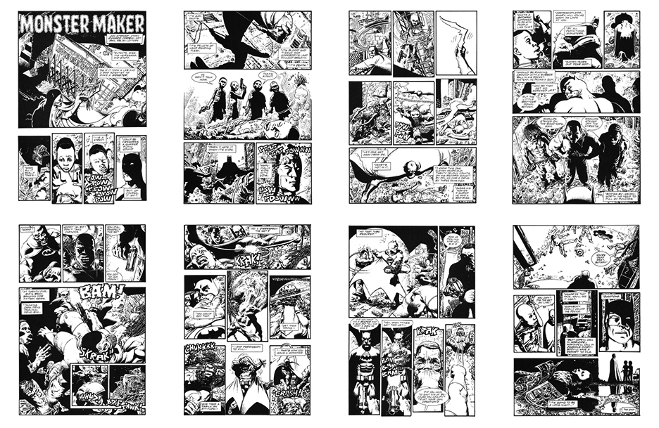 Batman: Monster Maker, 8 pgs