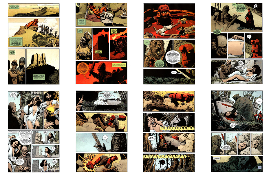 Hellboy: The Bride of Hell, 24 pgs