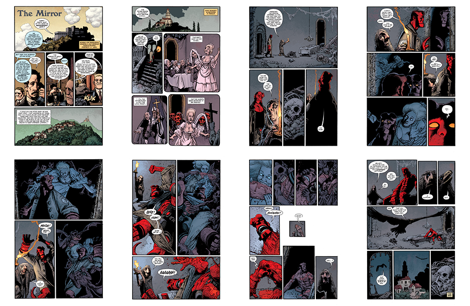 Hellboy: The Mirror, 8 pgs