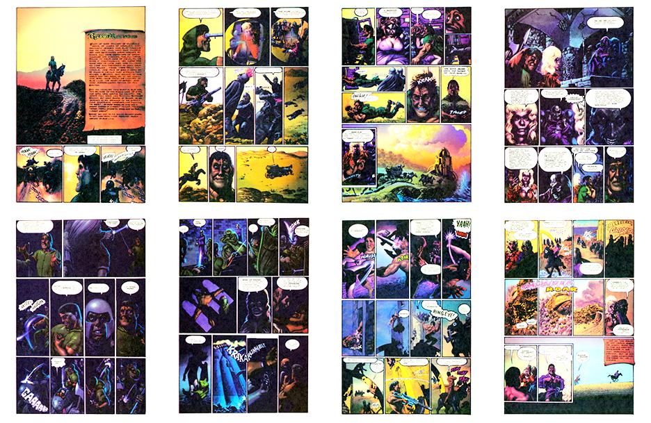 Razar the Unhero, color, 8 pgs