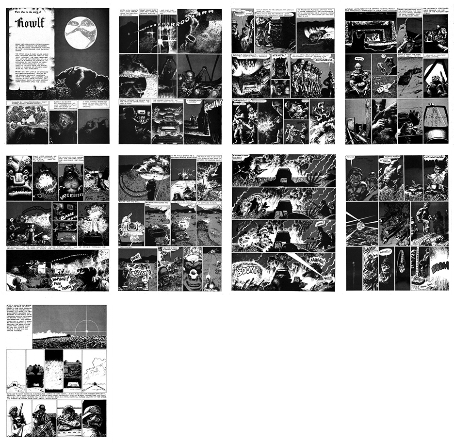 Rowlf, B&W, Part 2, 9 pgs