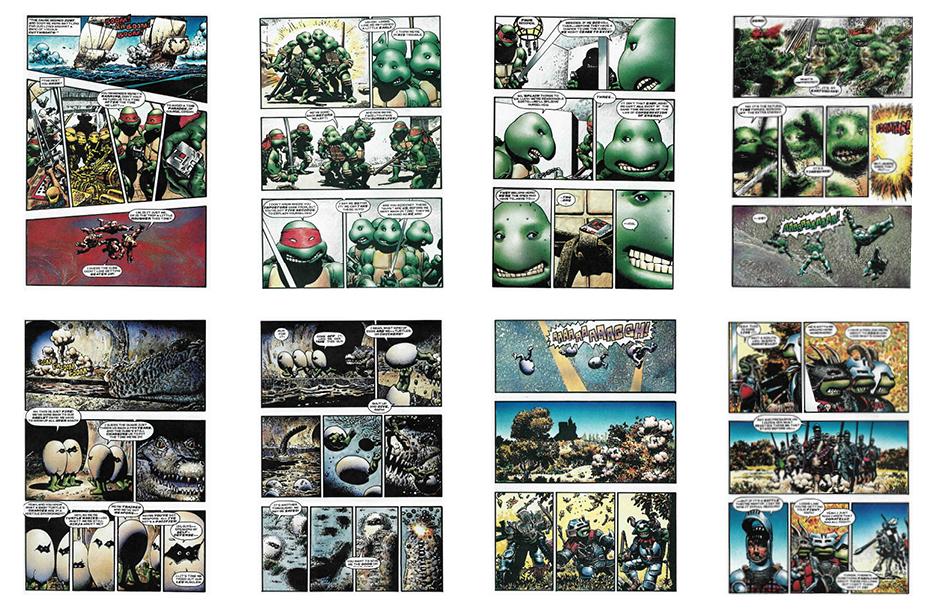 Teenage Mutant Ninja Turtles: Tutles Take Time, 28 pgs