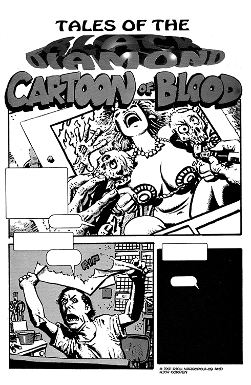 Tales of the Black Diamond, Part 5(5): Cartoon of Blood