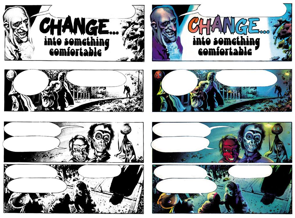 Change... Into Something Comfortable