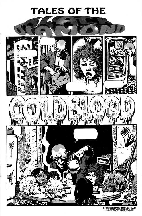 Tales of the Black Diamond, Part 4(5): Cold Blood