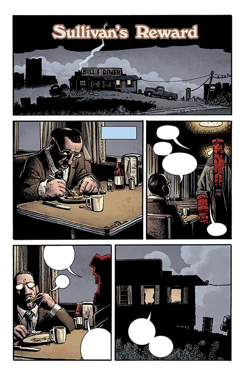 Hellboy: Sullivan's Reward