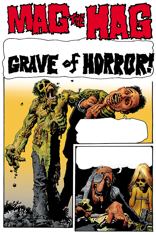 Shadows on the Grave Foreword #1