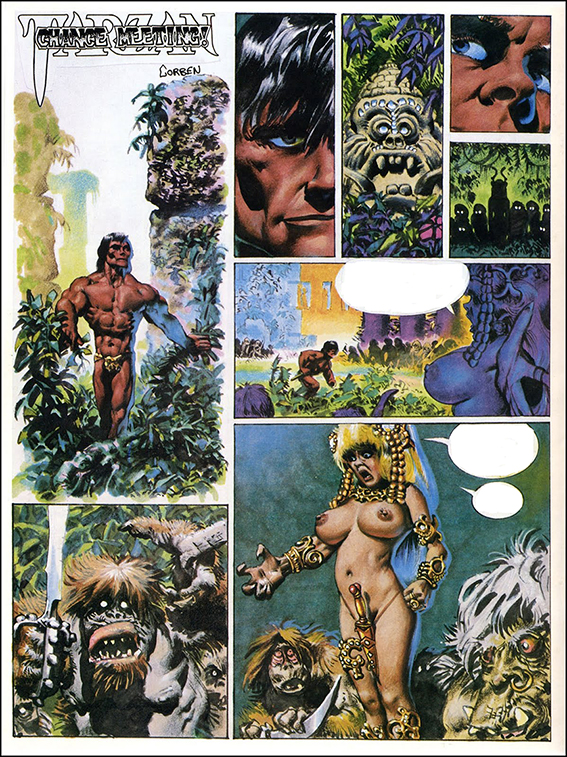 Tarzan: Chance Meeting!