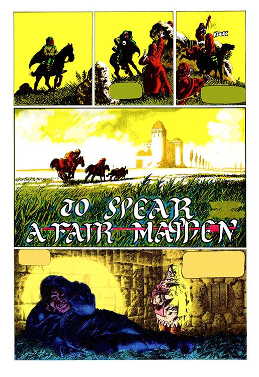 To Spear a Fair Maiden